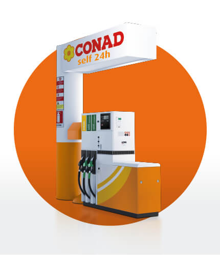 Distributore Conad Carburanti